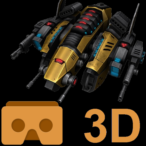 Store MVR product icon: Cardboard 3D VR Space FPS game